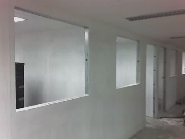 Paredes de gesso sistema drywall projeta for Techos de drywall para dormitorios